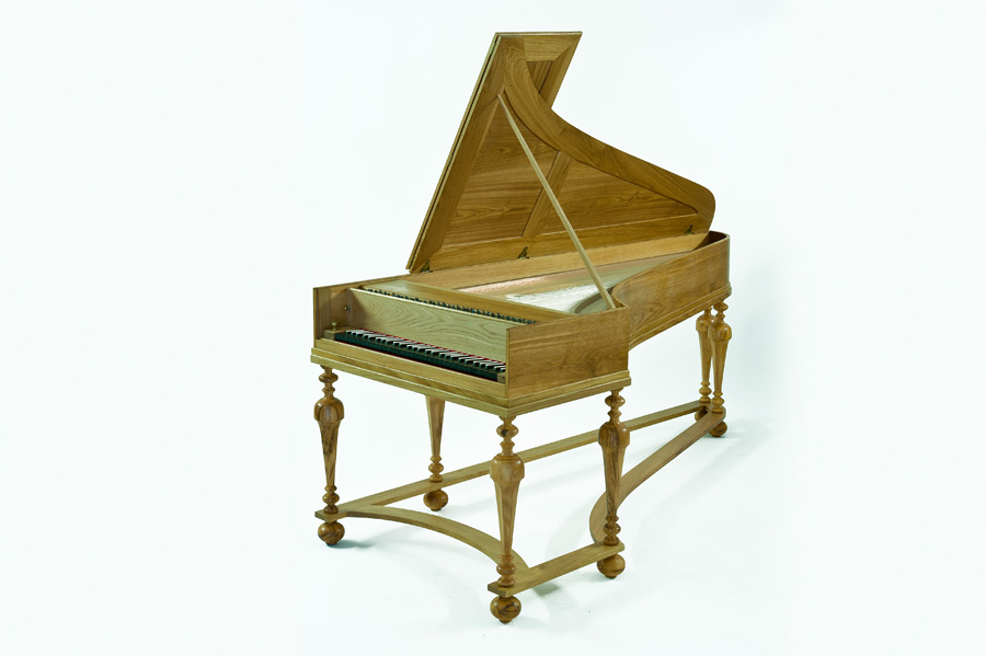 The Copy Of Gottried Silbermann Piano
